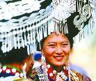 中国民族风:看不尽的彝族银饰