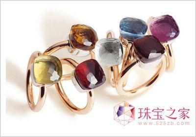 宝石戒指给你更多色彩空间