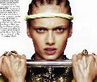 《Vogue》2011年2月号珠宝大片