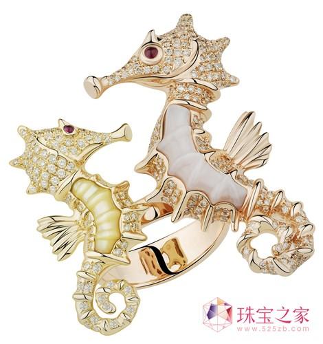 童趣中的奢华 动物系列珠宝