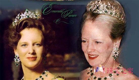 皇后的皇冠比皇帝皇冠小一些