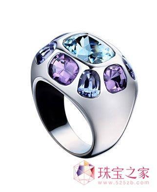 绚丽宝石光彩夺目只为指间的独特风情