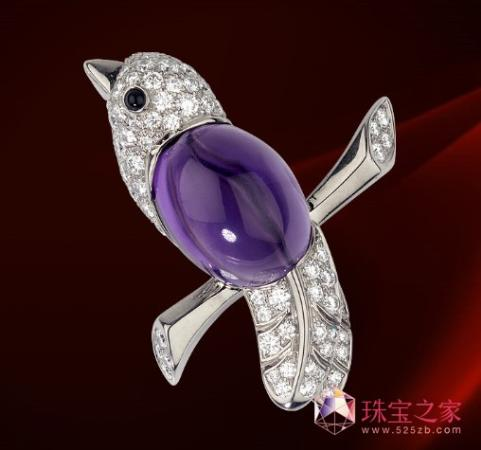 奢华珠宝色彩当道 春季珠宝流行风向标