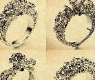 解读克拉钻首饰的两大设计风格