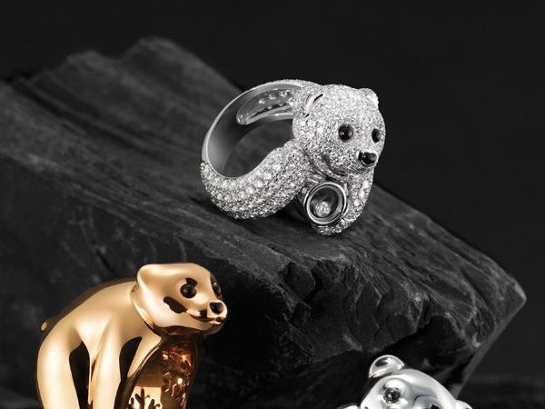 萧邦特色小熊珠宝 全新动物王国珠宝系列