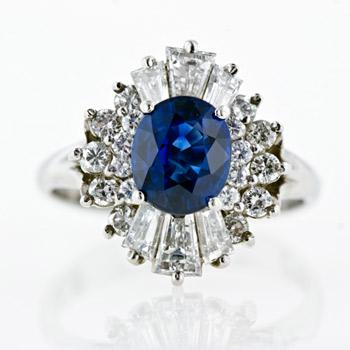 蓝色柔美新娘最爱婚饰