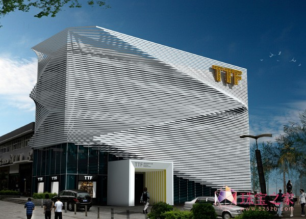 TTF国际珠宝U乐娱乐官网大厦广场