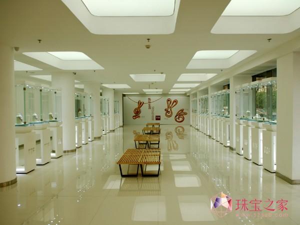 TTF国际珠宝U乐娱乐官网大厦的一楼U乐娱乐官网师高级珠宝U乐娱乐官网厅