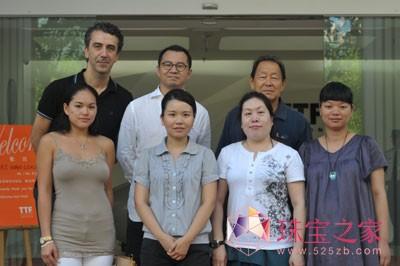 大溪地珍珠王到访TTF国际珠宝设计大厦