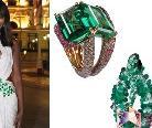 黑珍珠Naomi Campbell佩戴de GRISOGONO珠宝亮相婚礼