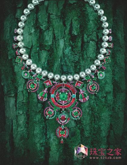 卡地亚珍珠项链
