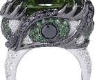 鬼才设计师斯蒂芬-韦伯斯特设计七宗罪主题戒指