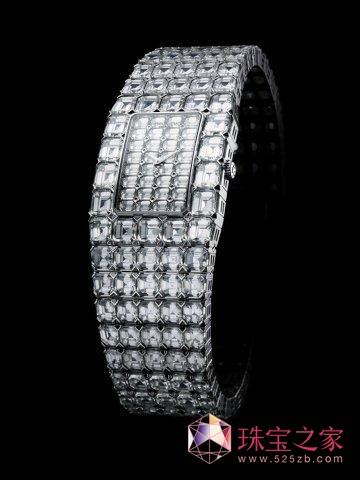 江诗丹顿Kallania160克拉激情高级珠宝腕表