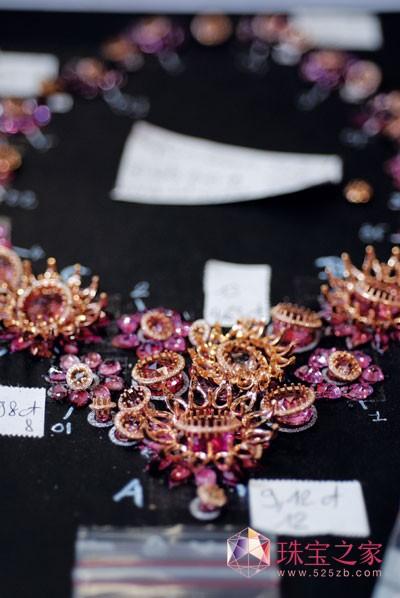 CHOPARD高级珠宝中彩钻的运用