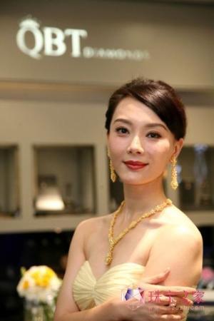 """QBT Diamonds """"金彩女王"""" 彩钻珠宝系列发布"""