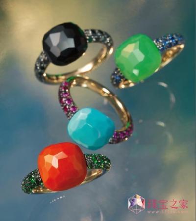 2012宝石流行之糖果色宝石