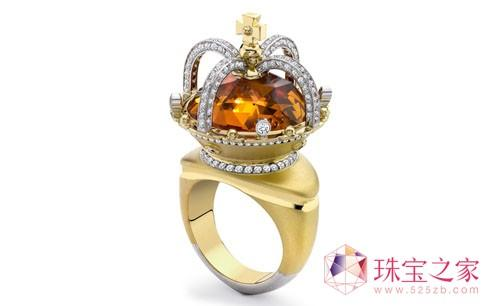 把皇冠戴在指间――Theo Fennell 皇冠戒指珠宝