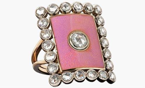珠宝设计师Azagury-Partridge推出贵族系列戒指