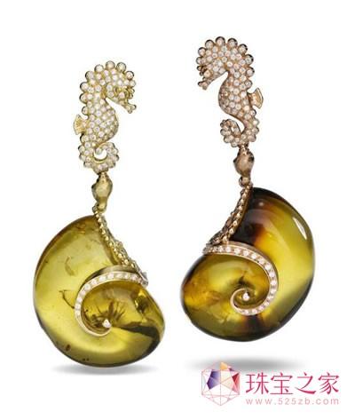 畅游海底世界 massimo izzo海洋系列珠宝