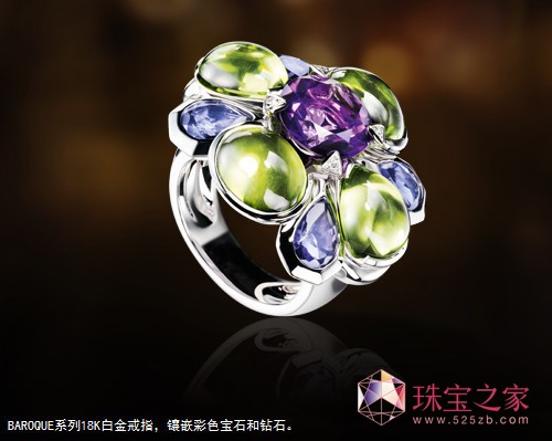 Chanel奢华珠宝戒指Baroque系列(Baroque Ring Collection of Chanel's Fine Jewelry),