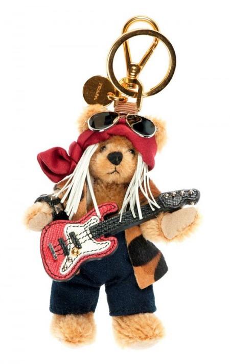 prada普拉达圣诞小熊吊饰
