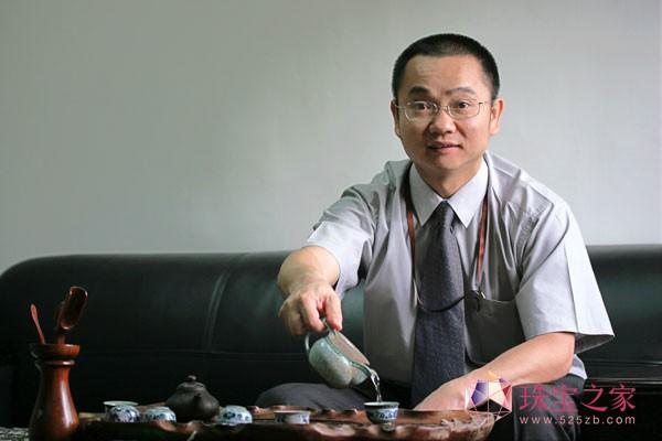 爱迪尔珠宝董事长苏日明先生