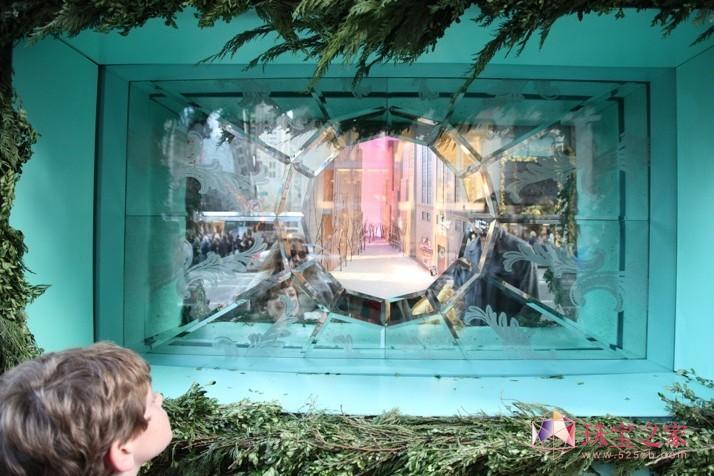 2011第五大道的Tiffany圣诞节橱窗