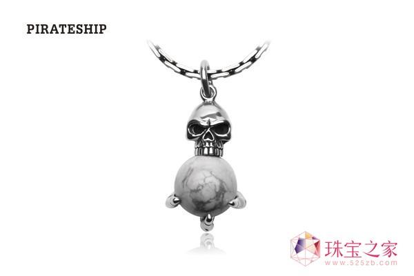 海盗船圣诞银饰配饰