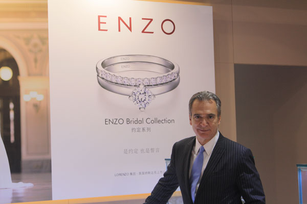 Enzo首席创意总监Omar  Torres
