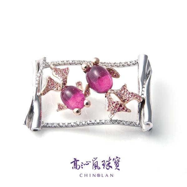 台湾珠宝设计师高沁岚作品:话说甜蜜