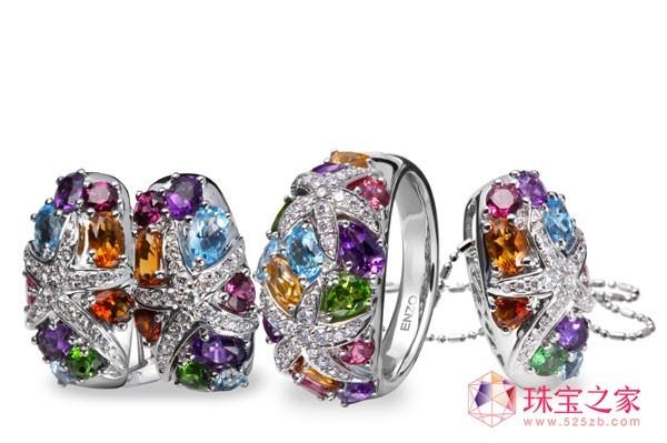 顶级珠宝品牌的彩宝设计灵感_彩宝馆_珠宝之家