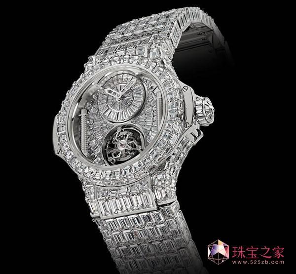 超奢华宇舶钻石腕表亮相巴塞尔钟表珠宝展