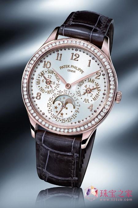 2012巴塞尔钟表珠宝展 百达翡丽Ref. 7140  Ladies First万年历腕表
