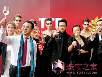 TTF2012龙年生肖跨界首饰设计作品发布会现场