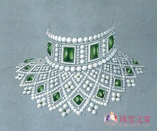 Fabergé罗曼诺夫高级珠宝项链