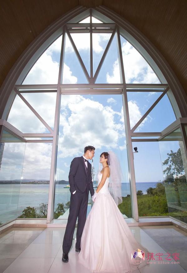 Ella关岛教堂拍婚纱照