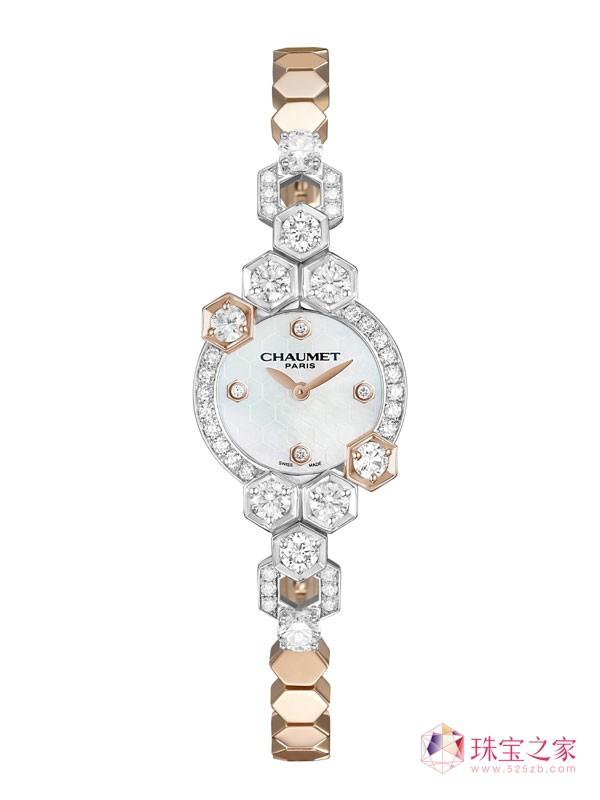 CHAUMET推出全新BEE MY LOVE珠宝腕表型号