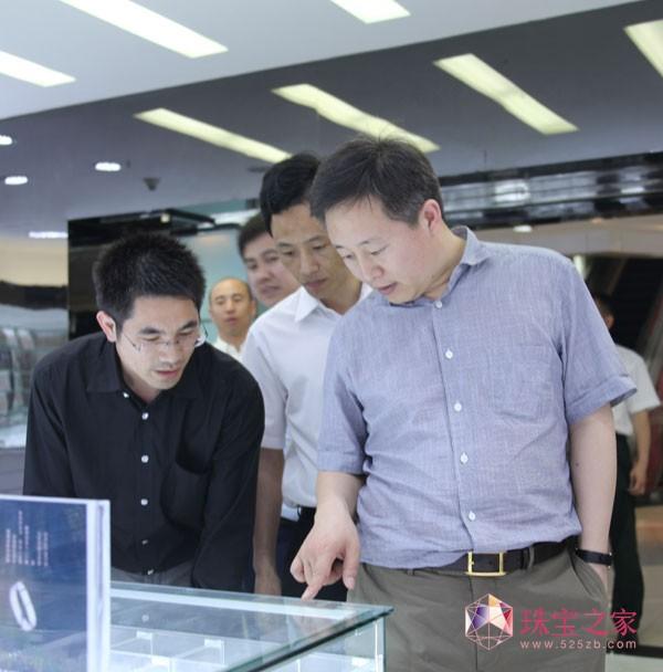 黑龙江省黑河市市长张恩亮一行莅临金丽中心参观考察