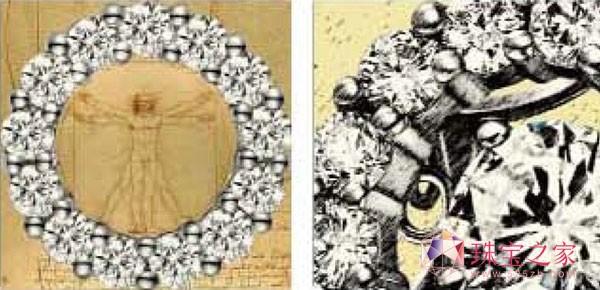 爱迪尔珠宝 灵动 系列 演绎会动的钻石 高清图片