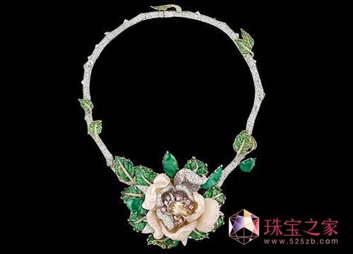 迪奥玫瑰珠宝