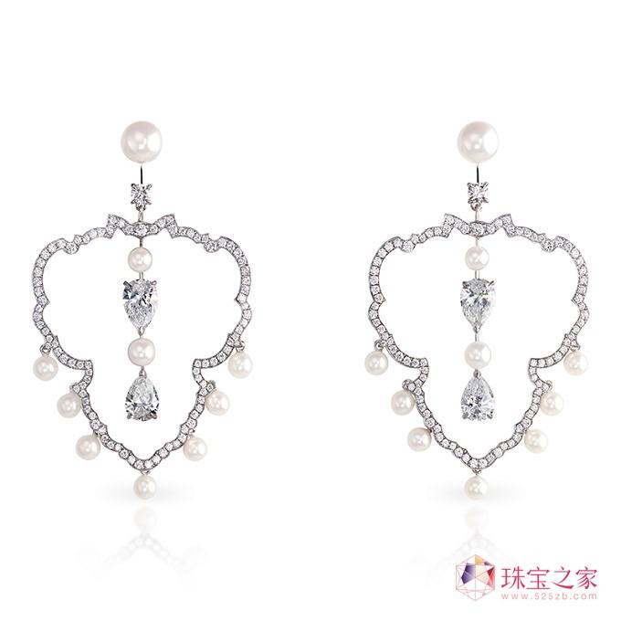 珍珠首饰推荐:法贝热(Fabergé)Impérial珠宝系列