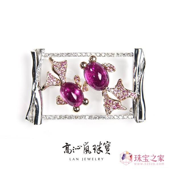 台湾珠宝设计师高沁岚艺术珠宝作品2