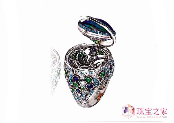 时尚中国—2012cctv彩宝首饰设计大赛作品将在北京展出