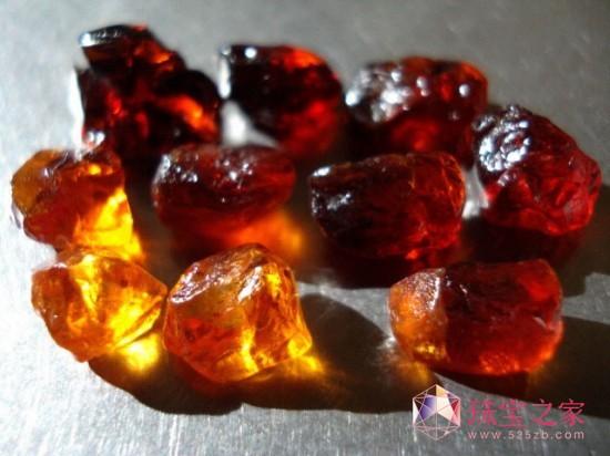 石榴石(garnet) 化学成分:a3b2[sio4]3