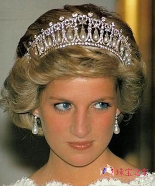 有什么珠宝能像珍珠一样配的上戴安娜王妃的美丽.-皇室政界女强人