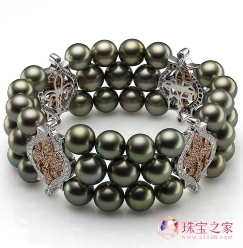 LILYROSE黑珍珠手链