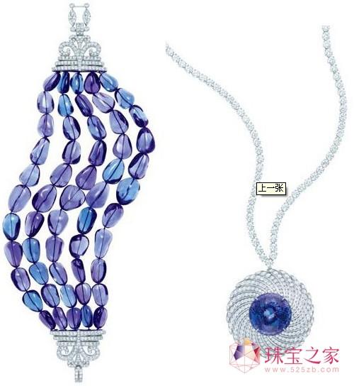 蒂芙尼blue book华贵珠宝 演绎奢华爵士风