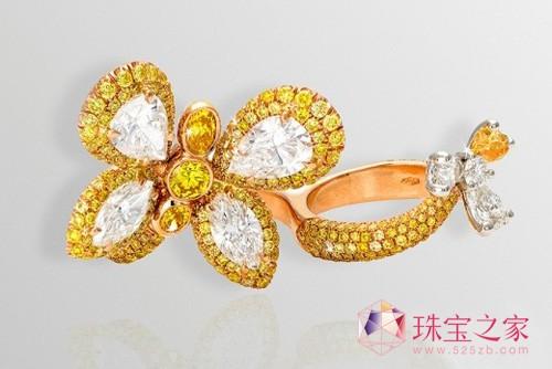 彩宝馆 彩宝新品 > 正文  花朵,蝴蝶,阳光,它们代表着春天的生机勃勃