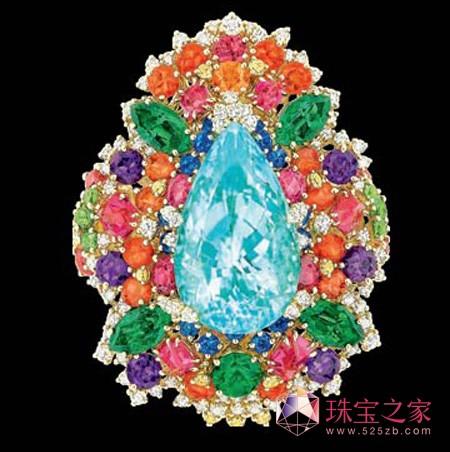 Dior 迪奥高级珠宝 帕拉伊巴戒指