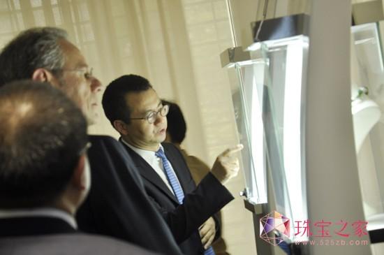 广东国际钻石商会陪同安特卫普世界钻石中心考